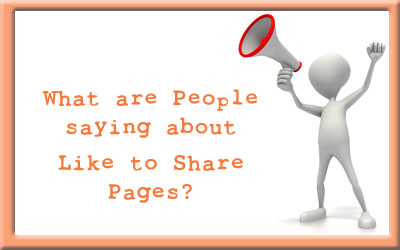 Like to Share Pages Reviews